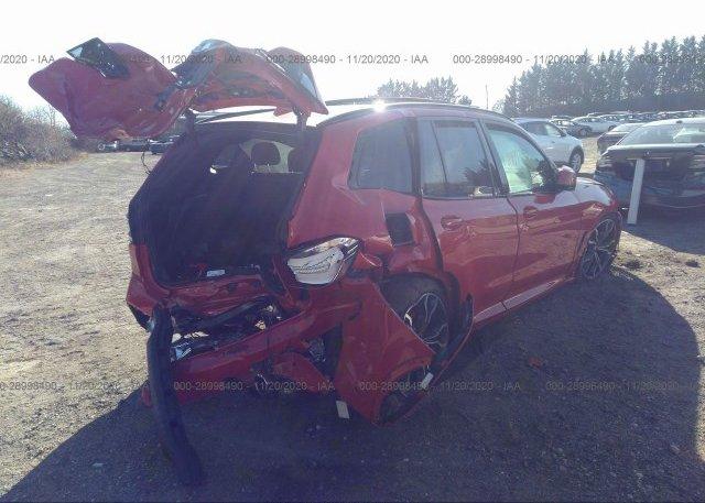 цена в сша 2020 BMW X3 M 5YMTS0C04L9C01820