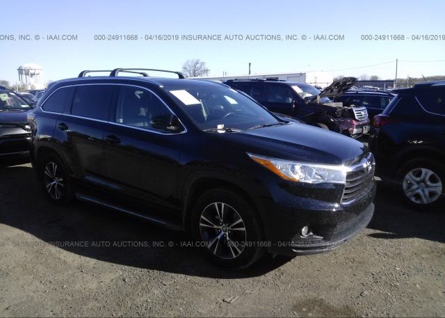 Inventory #593802093 2016 Toyota HIGHLANDER