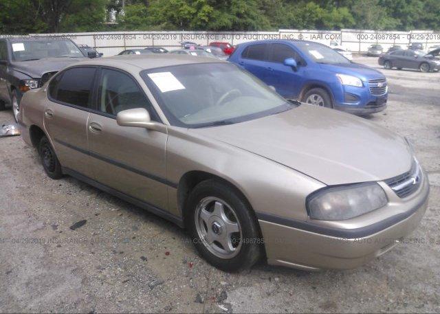 Inventory #525526936 2004 Chevrolet IMPALA