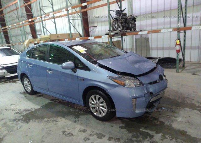 Inventory #524703761 2012 Toyota PRIUS PLUG-IN