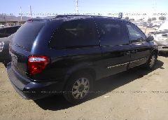 2005 Chrysler TOWN & COUNTRY - 2C4GP54L45R468287 rear view