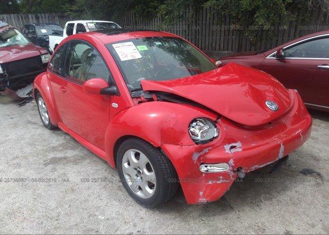 Inventory #942066101 2002 Volkswagen NEW BEETLE