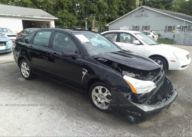 Inventory #611105769 2008 FORD FOCUS