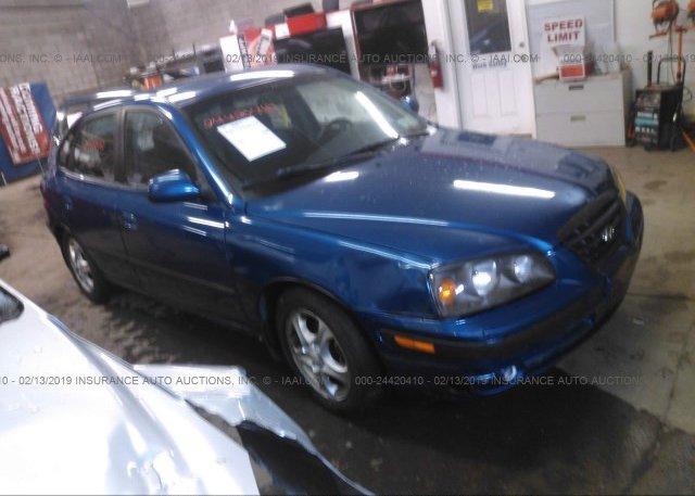 Inventory #615045927 2006 Hyundai ELANTRA