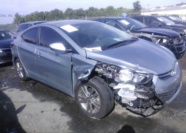 Inventory #640580512 2016 Hyundai ELANTRA