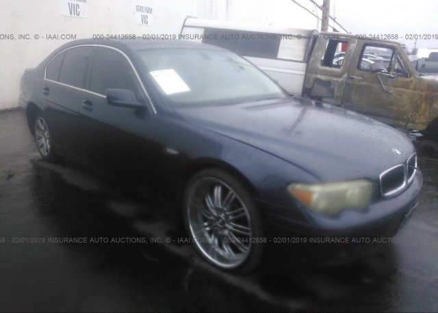 Inventory #609063425 2002 BMW 745