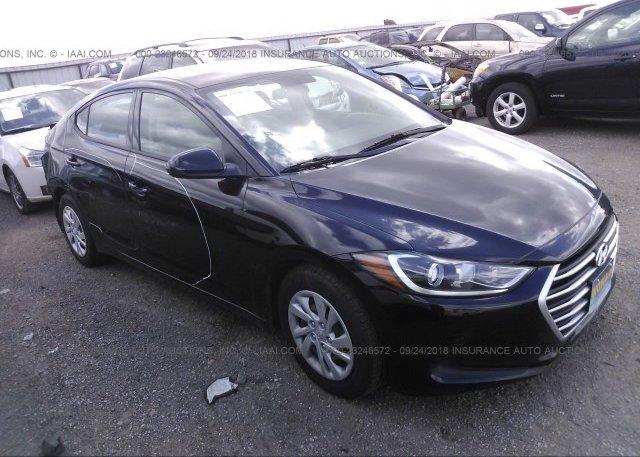 Inventory #389243090 2017 Hyundai ELANTRA