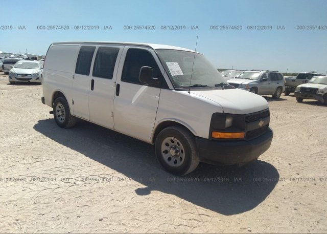 Inventory #619758720 2013 Chevrolet EXPRESS G1500