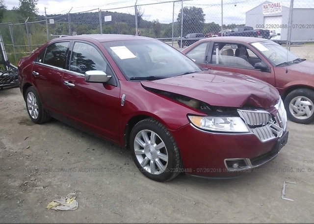 3LNHL2GC1AR611805, Clear red Lincoln Mkz at RED WING, MN on online ...