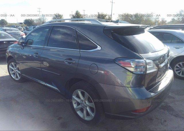 купить 2012 LEXUS RX 350 2T2ZK1BA6CC073697