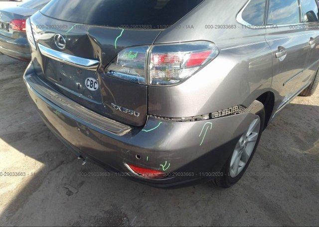 2T2ZK1BA6CC073697 2012 LEXUS RX 350