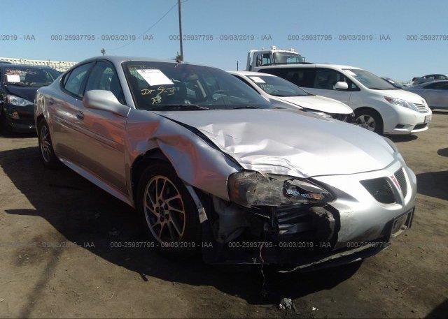 Inventory #322621177 2004 Pontiac GRAND PRIX