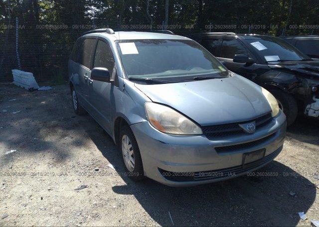 Inventory #949582123 2005 Toyota Sienna