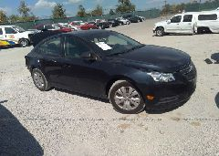 2016 Chevrolet CRUZE LIMITED - 1G1PC5SH5G7152257 Left View