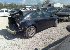 2016 Chevrolet CRUZE LIMITED - 1G1PC5SH5G7152257 rear view