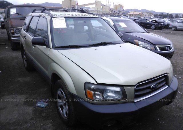 Inventory #570142599 2003 Subaru FORESTER