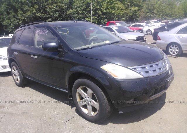Inventory #927718445 2003 Nissan MURANO