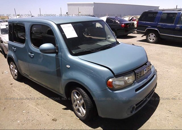 Jn8az2kr7bt201319 Salvage Red Nissan Cube At York Springs Pa On