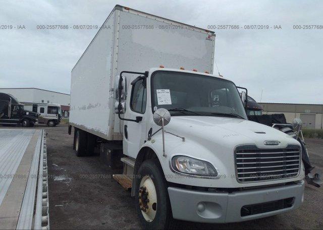 1FVACXDT9EHFR1017, Clear white Freightliner M2 at FARGO, ND