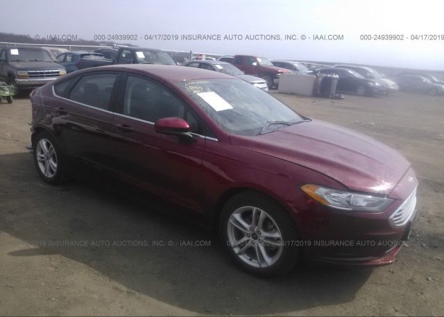 Inventory #237982568 2018 FORD FUSION