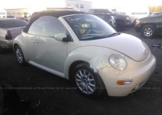 Inventory #127412836 2004 Volkswagen NEW BEETLE