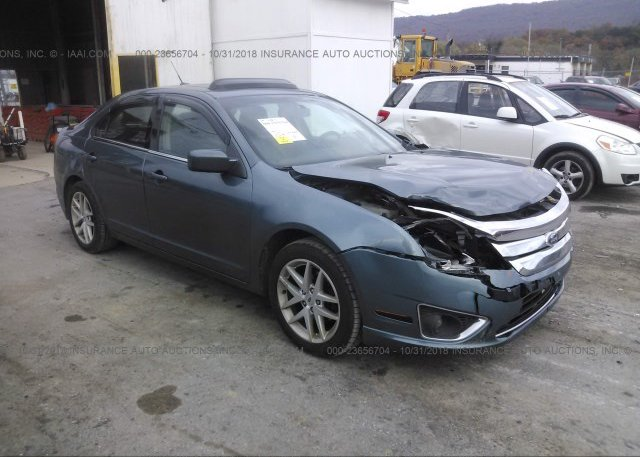 Inventory #166443539 2012 FORD FUSION