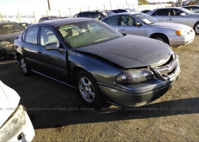 Inventory #587749348 2005 Chevrolet IMPALA