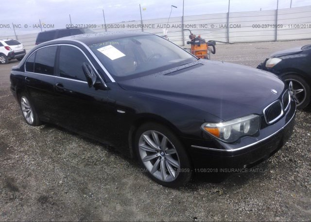 Inventory #140290340 2004 BMW 745
