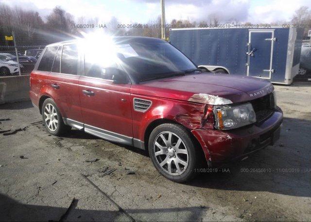 Inventory #426242057 2008 Land Rover RANGE ROVER SPORT