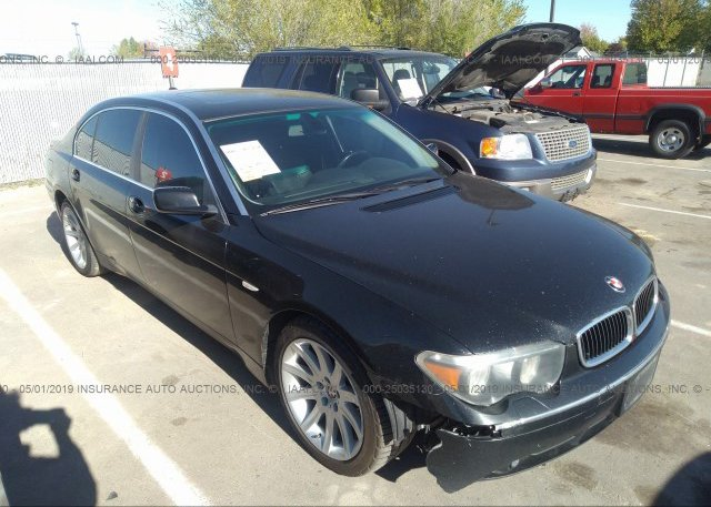 Inventory #839044821 2004 BMW 745