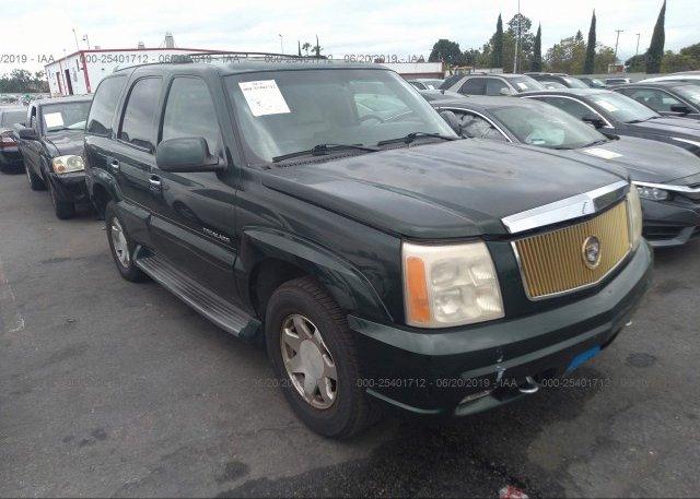 Inventory #815791003 2002 Cadillac ESCALADE