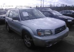 2004 Subaru FORESTER - JF1SG65694G723983 Left View