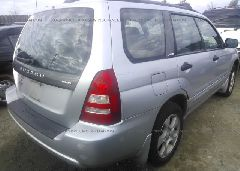 2004 Subaru FORESTER - JF1SG65694G723983 rear view