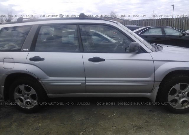 2004 Subaru FORESTER - JF1SG65694G723983