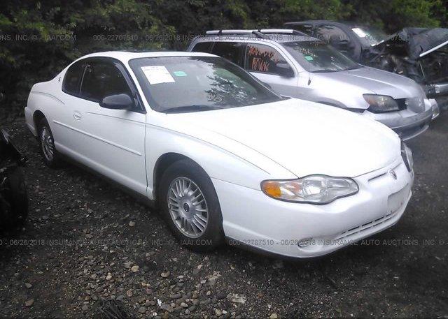 Inventory #136656070 2000 Chevrolet MONTE CARLO