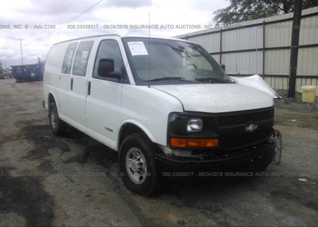 Inventory #131315391 2005 Chevrolet EXPRESS G2500