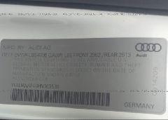 2017 AUDI A4 - WAUANAF46HN063539 engine view