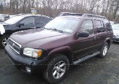 2004 Nissan PATHFINDER - JN8DR09YX4W909418 Right View