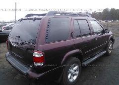 2004 Nissan PATHFINDER - JN8DR09YX4W909418 rear view