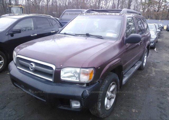 2004 Nissan PATHFINDER - JN8DR09YX4W909418
