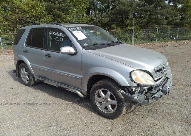 Inventory #498636234 2003 Mercedes-benz ML