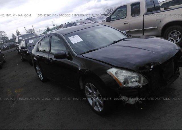 1n4ba41e08c809845 Clear Black Nissan Maxima At Culpeper Va On