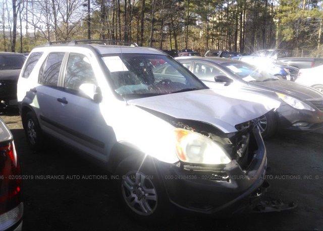 Inventory #205306107 2004 Honda CR-V
