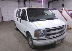 1999 Chevrolet EXPRESS G2500 - 1GCFG25W9X1119555 Left View
