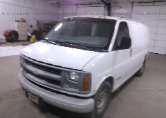 1999 Chevrolet EXPRESS G2500 - 1GCFG25W9X1119555 Right View