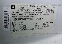 1999 Chevrolet EXPRESS G2500 - 1GCFG25W9X1119555 engine view