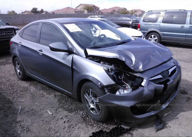 Inventory #607798419 2014 Hyundai ACCENT