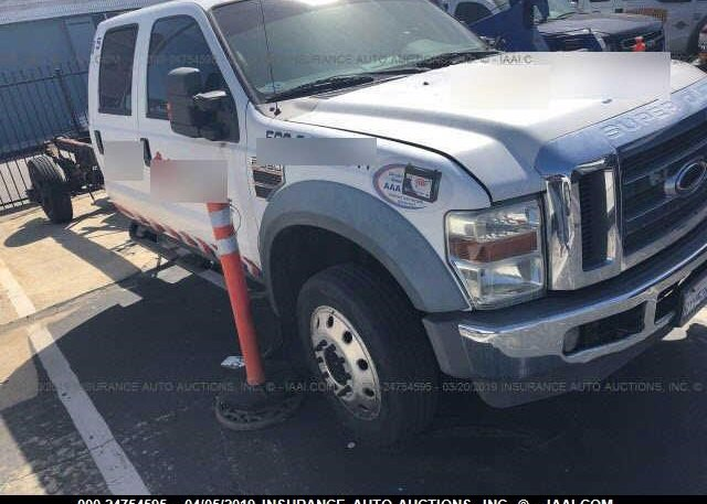 Inventory #733403520 2008 FORD F550