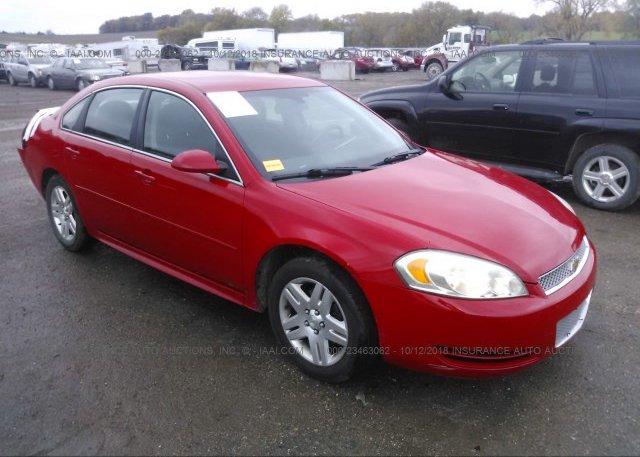 Inventory #993968693 2012 Chevrolet IMPALA