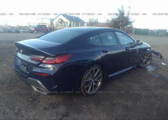 цена в сша 2020 BMW 8 SERIES WBAGV8C0XLCE17560